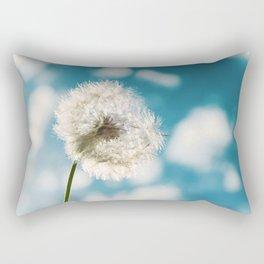 Flower - Taraxacum Officinale Rectangular Pillow