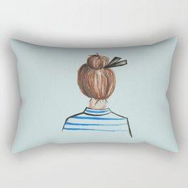 Bonjour Rectangular Pillow