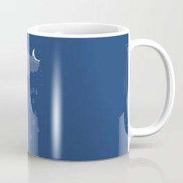 Night and Day raining-Sun-Moon Coffee Mug