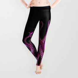 Pink Kraken Leggings