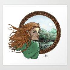 Elfic Art Print