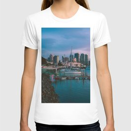 Moody sunset by Downtown San Diego T-shirt