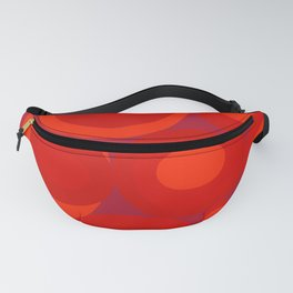 Bubbleroom in red Fanny Pack