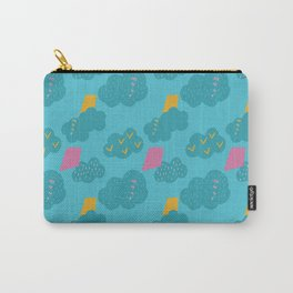 kites - blue Carry-All Pouch