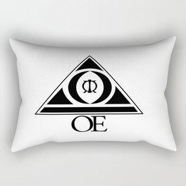 (OE) Overcome Everything Rectangular Pillow