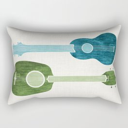Ukulele Duo Rectangular Pillow