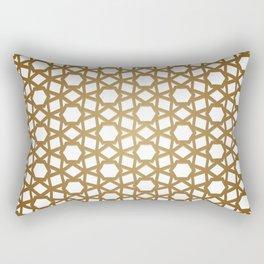 Golden Hive Rectangular Pillow