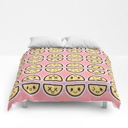 Kawaii Lemons Comforters