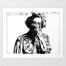 Bon Iver - Justin Vernon Art Print