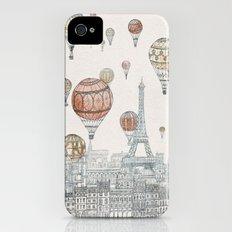 Voyages Over Paris iPhone (4, 4s) Slim Case
