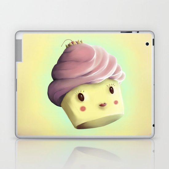 Princess Cupcake Laptop & iPad Skin