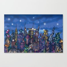 C2 & Posse (New-New York City) Canvas Print