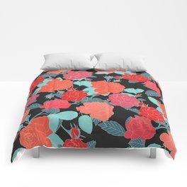 Rose Garden - Dark Comforters