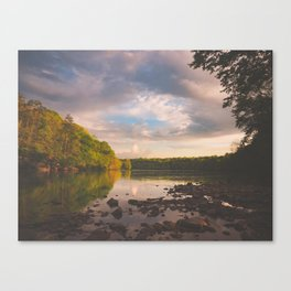 Sope Creek, Georgia Canvas Print