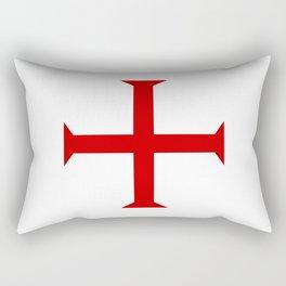 templar knights cross Rectangular Pillow