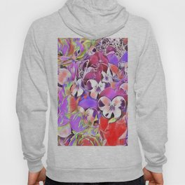 Candy floral mix pink Hoody