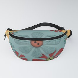 Country Flowers Fanny Pack