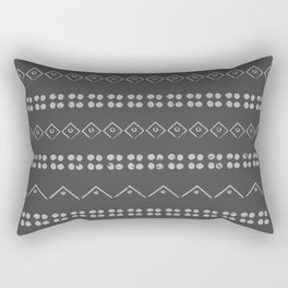 Tribal Grey Rectangular Pillow