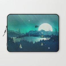 Beneath Barafundle Laptop Sleeve