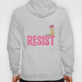 Resist Persist Pussy Cat Hat T-Shirt Equal Rights Hoody