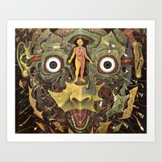 Journey of The Wounded Healer  Art Print