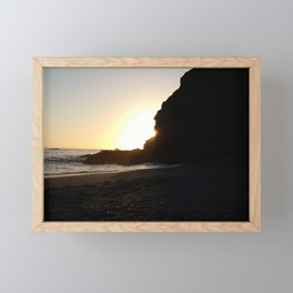 Hidden Cove Framed Mini Art Print