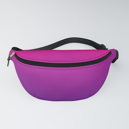 Neon Pink Purple Ultra Violet Pattern Fanny Pack