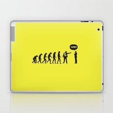 WTF? Evolution! Laptop & iPad Skin