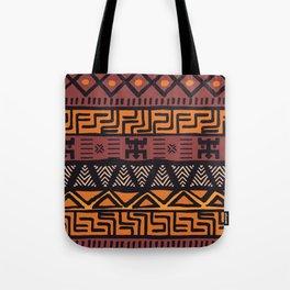Tribal ethnic geometric pattern 021 Tote Bag