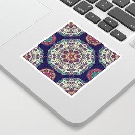 Colorful Mandala Pattern 007 Sticker