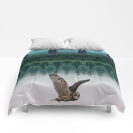Fourth Dimension Owl by GEN Z Comforters