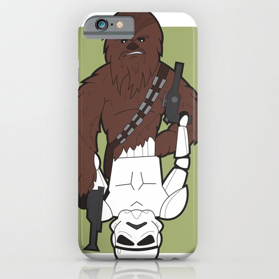 Chewbacca and Stormtrooper iPhone & iPod Case