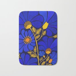 Wildflower Garden Bath Mat