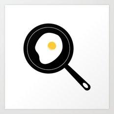 Fried Egg Art Print