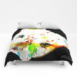 Color Me Frenchie Comforters