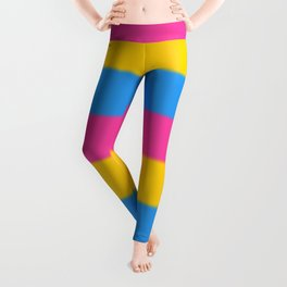 Pansexual Pride Flag v2 Leggings