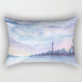 Once Upon Toronto - Skyline Rectangular Pillow