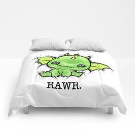 Baby Dragon Kawaii Comforters