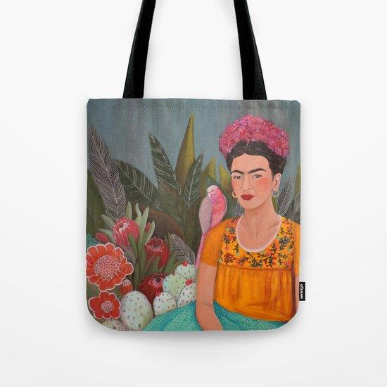 Frida a la casa azul Tote Bag