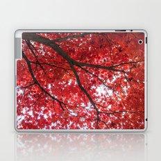 blazing red Laptop & iPad Skin