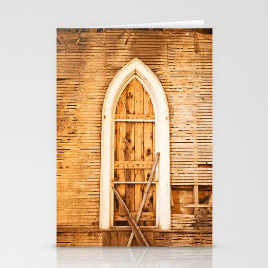 Church Window Stationery Cards
