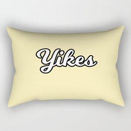 yikes II Rectangular Pillow