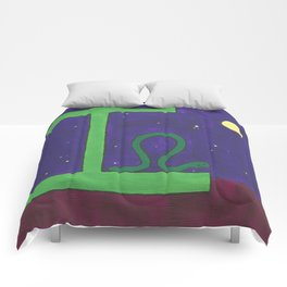 I is for Inchworm Comforters