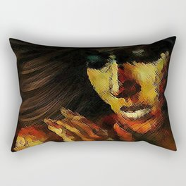 THE MYSTERY OF PAIN Rectangular Pillow