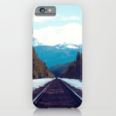 Train to Mountains iPhone 6 Slim Case