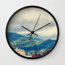 Trapani art 15 Sicily Wall Clock