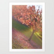 a hint of fall Art Print