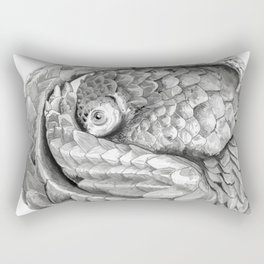 Pangolin Rectangular Pillow