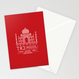 Taj Mahal India 8 Bit Stationery Cards