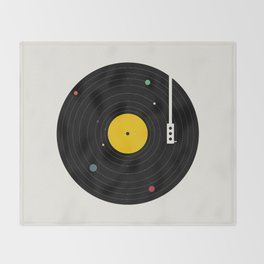 Music, Everywhere Throw Blanket